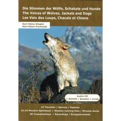 CD Les Voix des Loups, Chacals et Chiens