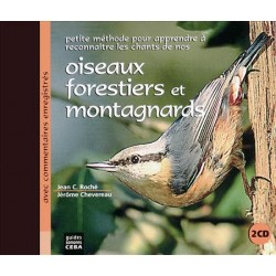 Double CD Oiseaux forestiers et montagnards (2 CD)