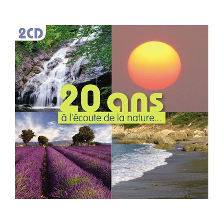 20 years with listen to nature (2 CD)