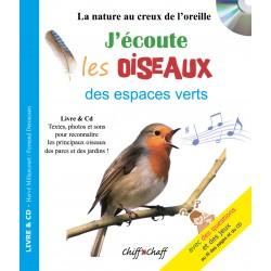 J'écoute les Oiseaux des espaces verts (LIVRE+CD)