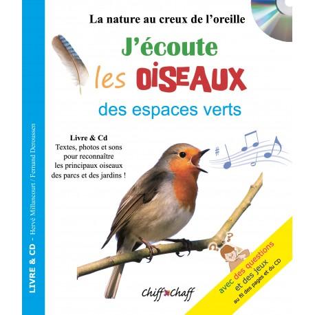 J'écoute les Oiseaux (livre+cd)