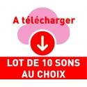 SONS AU CHOIX