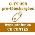 """CLÉS USB AVEC """"CD CONTES"""""""