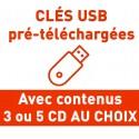 CLÉS USB AVEC 3 CONTENUS AU CHOIX